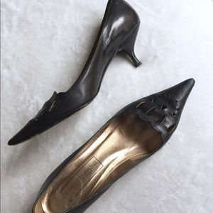 Saks 5th Ave Leather Heels