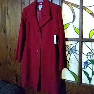 Ladies' Worthington Dress Coat (Size XL)