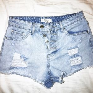 Forever 21 Denim Cutoff Shorts
