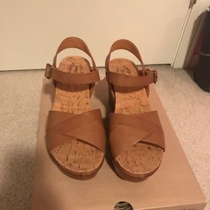 New Kork-Ease Ava 2.0 Brown Wedge