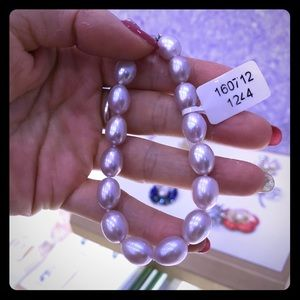 purple pearl bracelet!