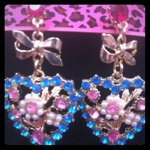 Heart shaped earrings ❤️
