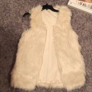 Xhiliration Faux Fur Vest