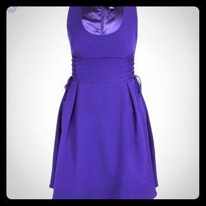 City Chic plus size corset fit & flare dress M (18