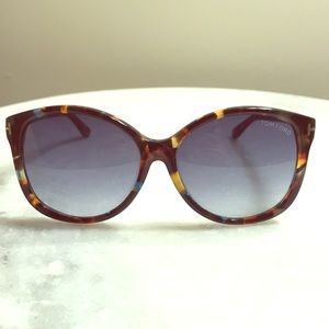 Authentic Tom Ford Tortoise Sunglasses