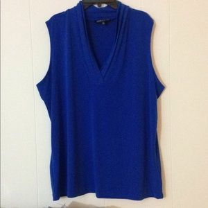 Jones New York blue blouse 2x