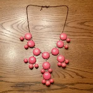Jewelry - Bauble Necklace, Pink