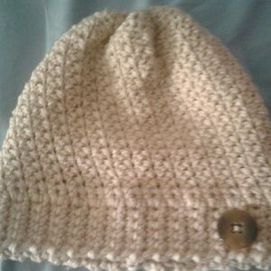 Hand made crochet slouchy