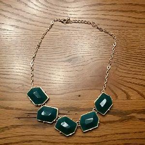 Jewelry - Fashion Necklace, Emerald Green