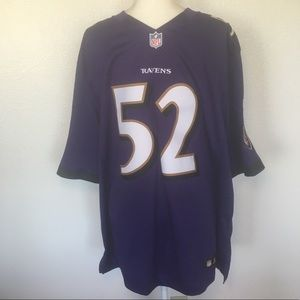f6a9c7940 Nike Shirts - NWOT Authentic Nike On Field Ray Lewis NFL Jersey
