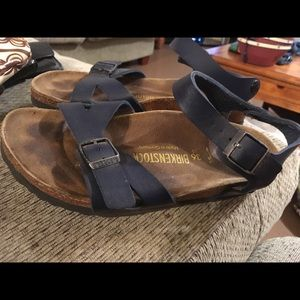 Birkenstock Shoes - Birkenstock Leather Sandals Size 5