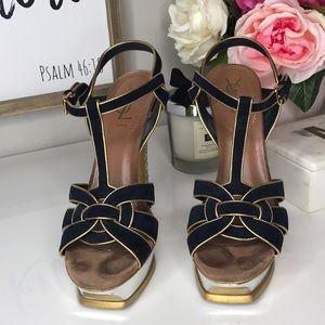 YSL Tribute Sandals 38 1/2