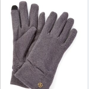 Adrienne Vittadini Wool Blend Touch Screen Gloves