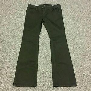 ana bootcut women's black denim jeans 30 10