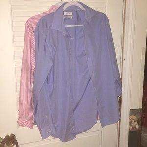 Calvin Klein Plaid Button-Down shirt (Business))