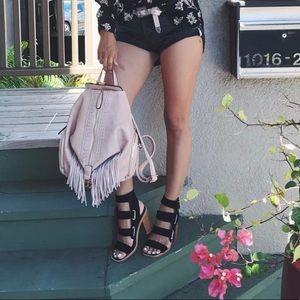 Sol-Sana Lixer Heel in Black Suede