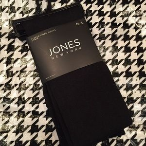 🎁🆕🎁 JONES NEW YORK Fleece Lined Tights NWT