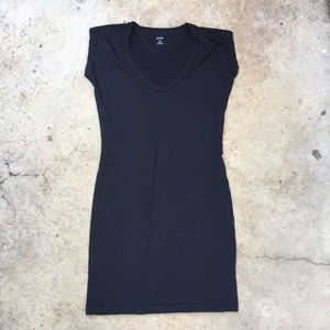 Icebreaker black wool Villa Dress S