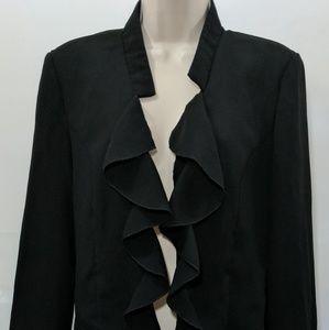 Woman's Blazer jacket black size 14