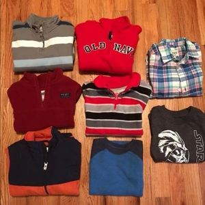 4/4T boys lot Children's Place old navy jumping