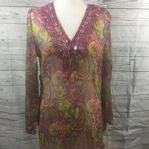 Sol Clothing long sleeve shirt OS