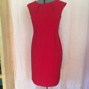 Gorgeous Calvin Klein Red Dress