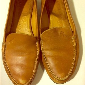 Ferragamo loafers flats size 4.5 luggage color