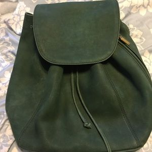 Coach backpack leather purse!
