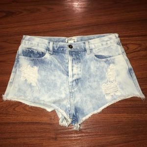 Forever21 High Waisted Shorts
