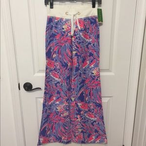 Lilly Pulitzer Beach Pant Shrimply Chic-XS