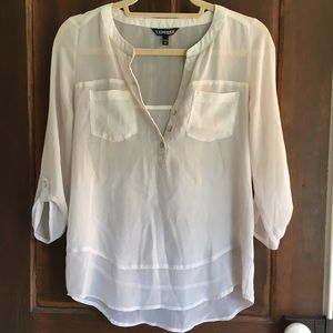 Sheer White Express Blouse