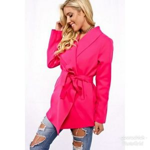 Jackets & Blazers - 'Wrapped in Love' Belted Cardigan