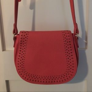 Coral colored Crossbody bag