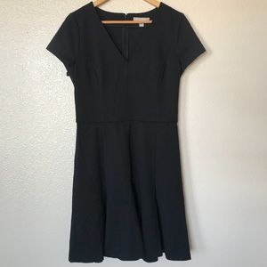 BR Black Fit and Flair Dress