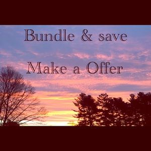 Other - Make a offer Bundle and save