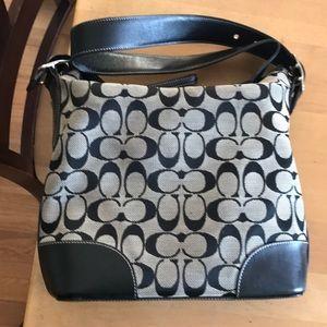 Coach bag. Decent condition.