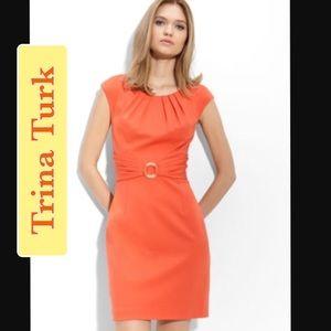 Gorgeous orange Trina Turk dress- Flawless