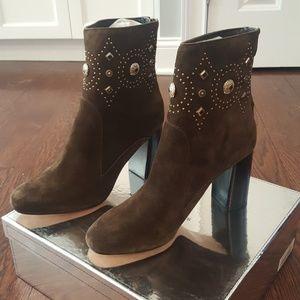 Beautiful suede booties