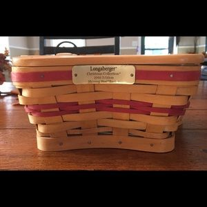 🎄Longaberger Collection Edition Xmas Basket 🎄
