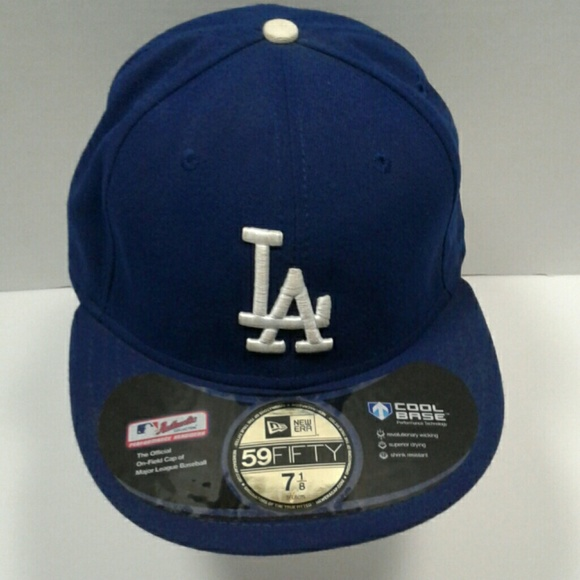 1141833b71b LA Dodger Blue Official Major League Baseball Hat