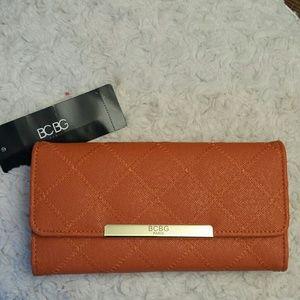 BCBG NWT Orange Wallet