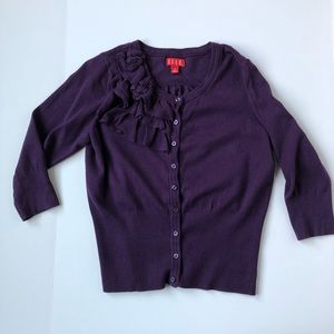 Cropped Purple Sweater Size M 🆕 Listing!