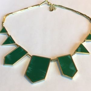 House of Harlow Green and Gold Necklace
