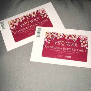 BOTH VS $20 OFF REWARDS CARDS