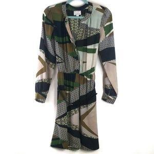 Donna Morgan dress 6 green print