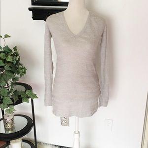 Mossimo Gray Long Sleeve Sweater Tunic