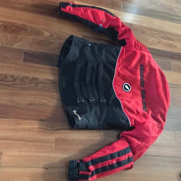 Joe Rocket Honda Racing Motorcycle Jacket Medium