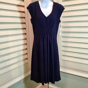 NWT, Calvin Klein Navy Knit Dress, 8