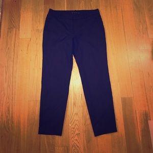 Zara dark blue ankle work pants!