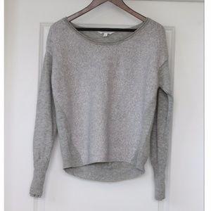 ATHLETA Cozy Pullover Light Gray Sweater Size M